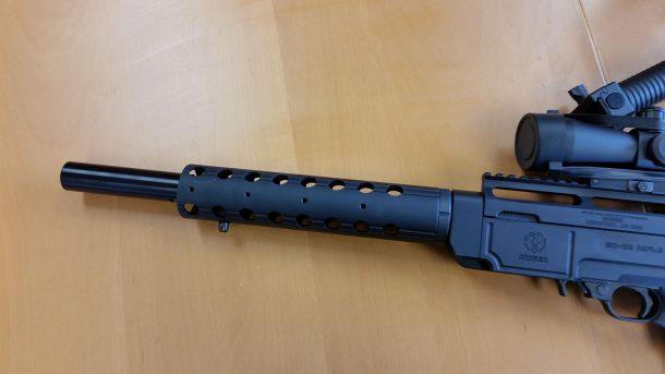 Rugger SR 22 1/2 x 28 barrel shroud - Down Range Products ...