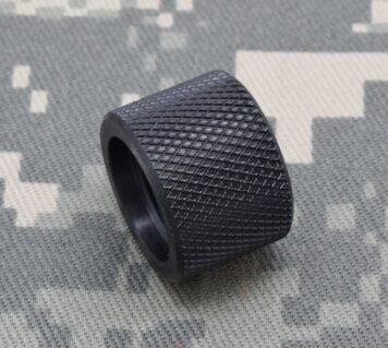 ".308 5//8/""X24 Bull Barrel Thread Protector .930 dia Black 3//4/"" Long Smooth #4168"